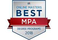 Best Online MPA Program 2018