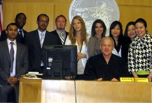Participants of the 24th Annual Fulbright Symposium on International Legal Problems
