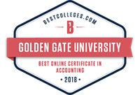 2018 Best Online Certificate in Accounting