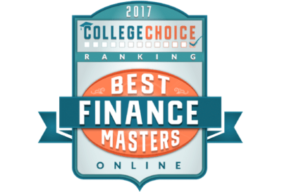 College Choice Best Online Finance Masters Online Badge.