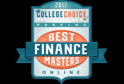 College Choice Best Online Finance Masters Online Badge.