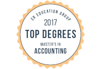 Graduate Programs Dot Com Accounting Badge