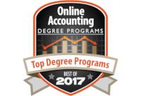 Top Online Accounting Degree Programs 2017
