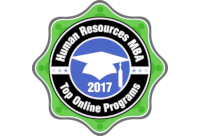 Top Online Human Resources MBA Badge