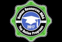 Top Online Human Resources MBA Badge