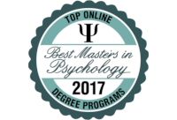 Top Online Masters in Psychology Badge