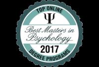 Top Online Masters in Psychology Badge