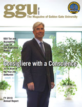 GGU Alumni Magazine - Fall 2010