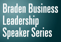 GGU Braden Business Leadership Speaker Series Event