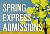 Spring Term Express Admissions event