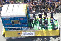 Warriors GGU Parade Float