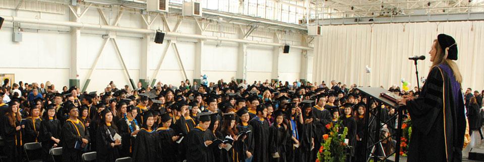 Students Celebrate on Graduation Day