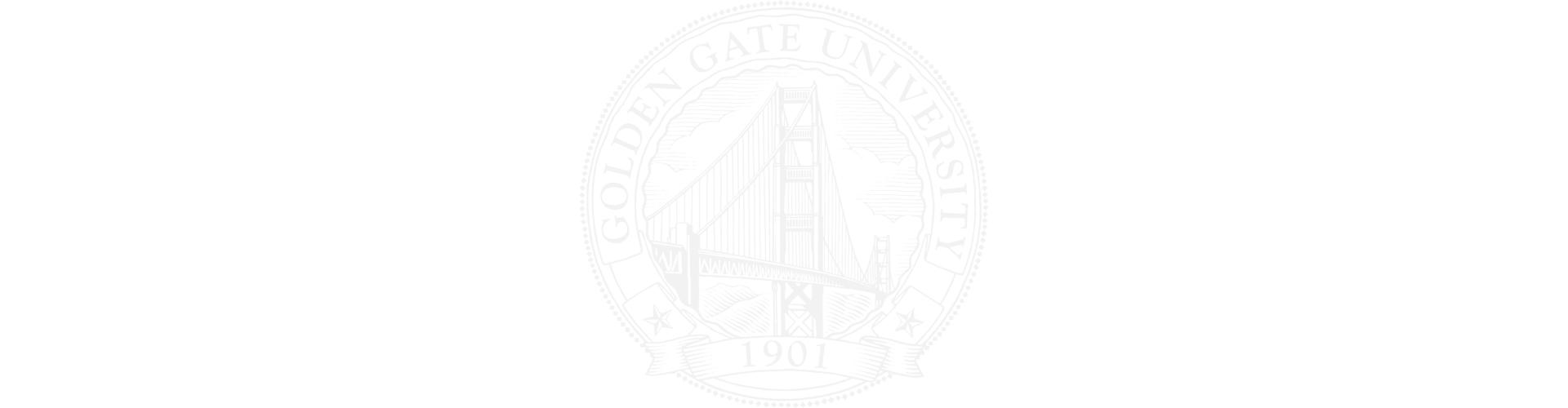 Golden Gate University Seal