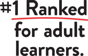 America's Number #1 Ranked University for Adult Learners