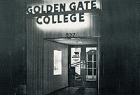Historical Photo of Golden Gate University