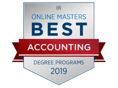 Accounting Master's Degree Named Among Top-Ten Online Programs in the U.S.
