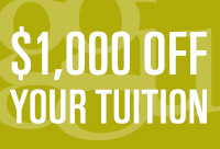 Jump Start Grant - $1000 off tuition